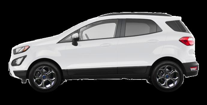 2018 Ford Ecosport SES   Photo 4   White Platinum Metallic