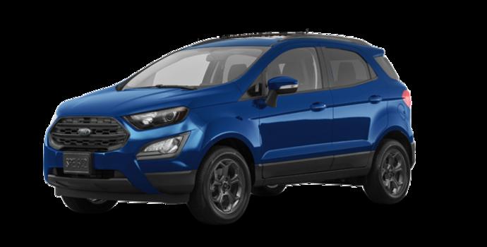 2018 Ford Ecosport SES   Photo 6   Lightning Blue
