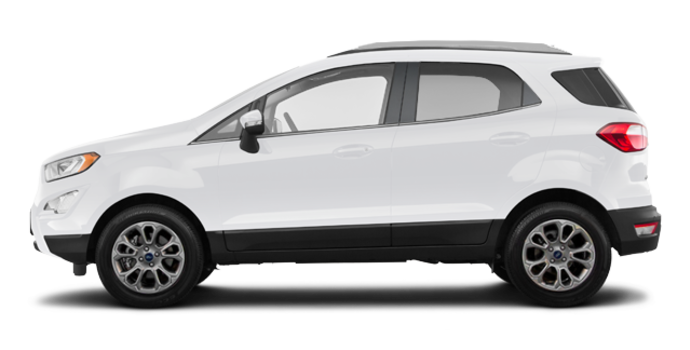 2018 Ford Ecosport TITANIUM | Photo 4 | White Platinum Metallic