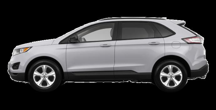 2018 Ford Edge SE   Photo 4   Ingot Silver Metallic