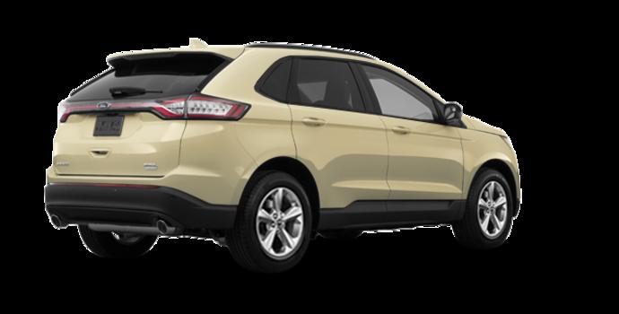 2018 Ford Edge SE   Photo 5   White Gold