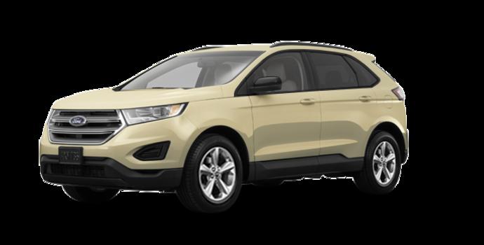 2018 Ford Edge SE   Photo 6   White Gold