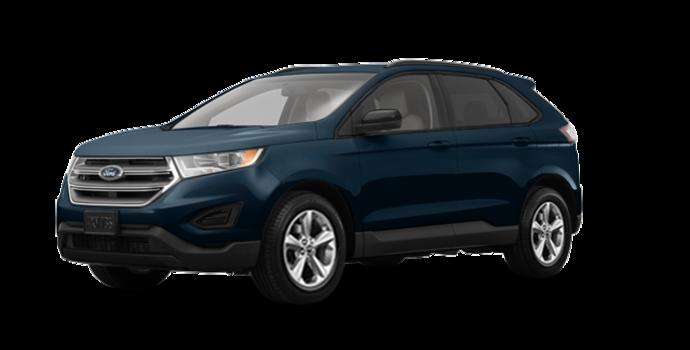 2018 Ford Edge SE   Photo 6   blue metallic