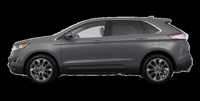 2018 Ford Edge TITANIUM   Photo 4   Magnetic Metallic