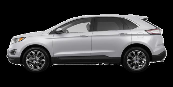 2018 Ford Edge TITANIUM   Photo 4   Ingot Silver Metallic