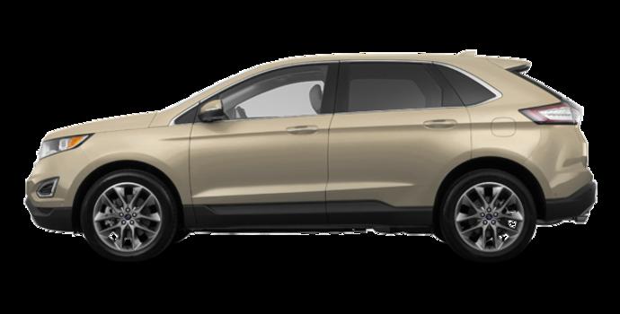 2018 Ford Edge TITANIUM   Photo 4   White Gold