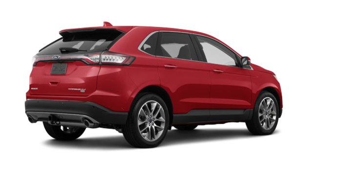2018 Ford Edge TITANIUM   Photo 5   Ruby Red Metallic Tinted Clearcoat