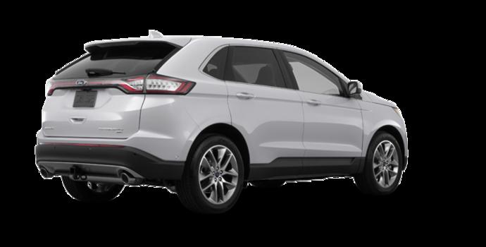 2018 Ford Edge TITANIUM   Photo 5   Ingot Silver Metallic