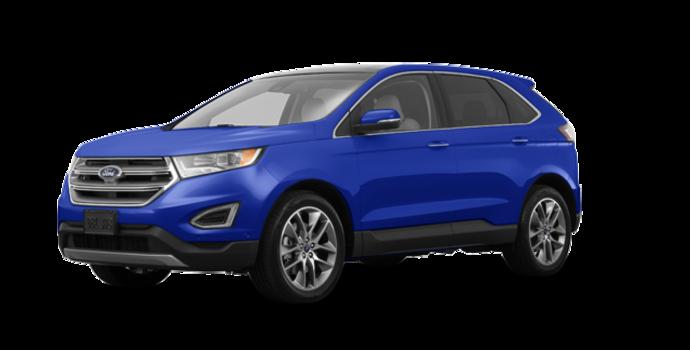 2018 Ford Edge TITANIUM   Photo 6   Lightning Blue
