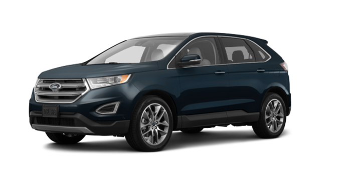 2018 Ford Edge TITANIUM   Photo 6   blue metallic