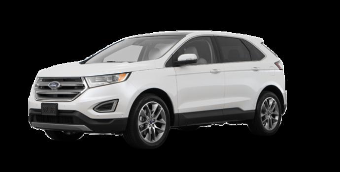 2018 Ford Edge TITANIUM   Photo 6   White Platinum Metallic Tri-Coat