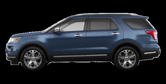 2018 Ford Explorer PLATINUM | Photo 4 | blue metallic