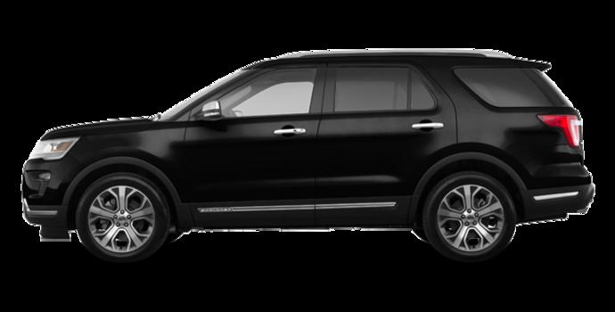 2018 Ford Explorer PLATINUM | Photo 4 | Shadow Black