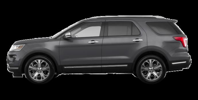 2018 Ford Explorer PLATINUM | Photo 4 | Magnetic Metallic