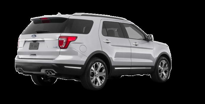 2018 Ford Explorer PLATINUM | Photo 5 | Ingot Silver Metallic