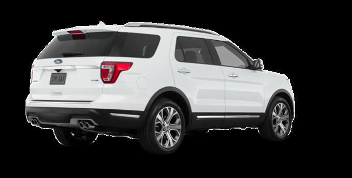 2018 Ford Explorer PLATINUM | Photo 5 | White Platinum Metallic