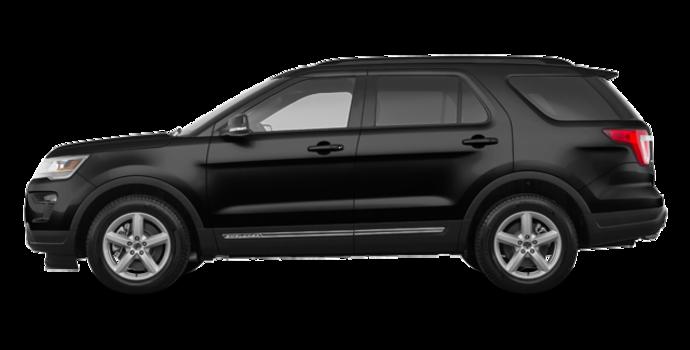 2018 Ford Explorer XLT | Photo 4 | Shadow Black
