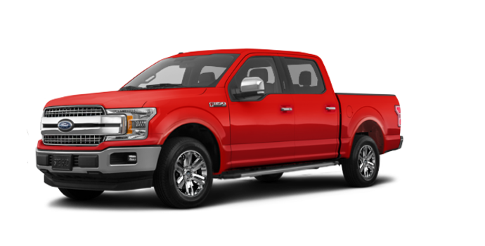 2018 Ford F-150 LARIAT   Photo 6   Race Red
