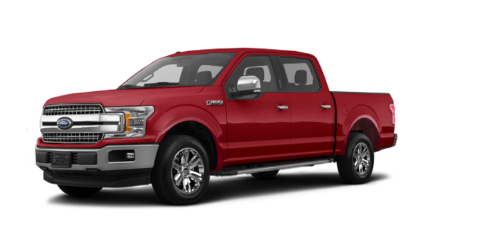 2018 Ford F-150 LARIAT   Photo 6   Ruby Red Metallic