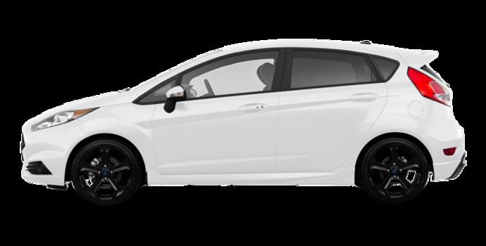 2018 Ford Fiesta Hatchback ST   Photo 4   White Platinum