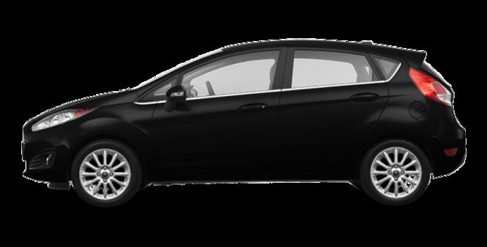 2018 Ford Fiesta Hatchback TITANIUM | Photo 4 | Shadow Black