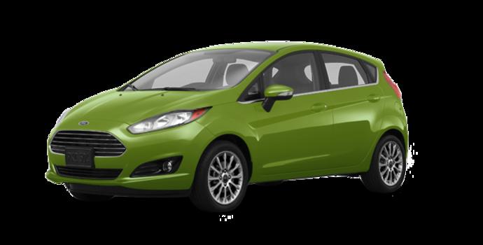 2018 Ford Fiesta Hatchback TITANIUM | Photo 6 | Outrageous Green