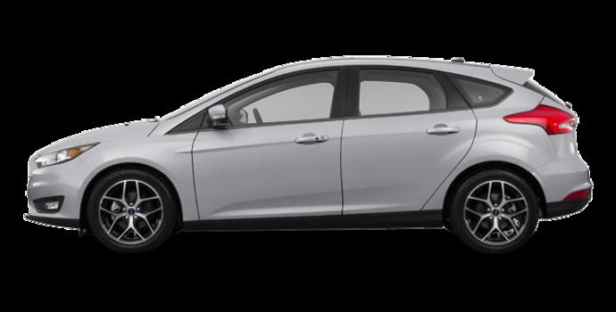 2018 Ford Focus Hatchback SEL   Photo 4   Ingot Silver Metallic