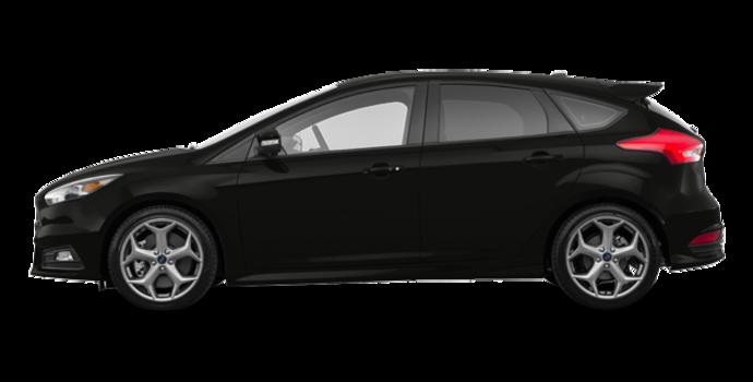 2018 Ford Focus Hatchback ST   Photo 4   Shadow Black