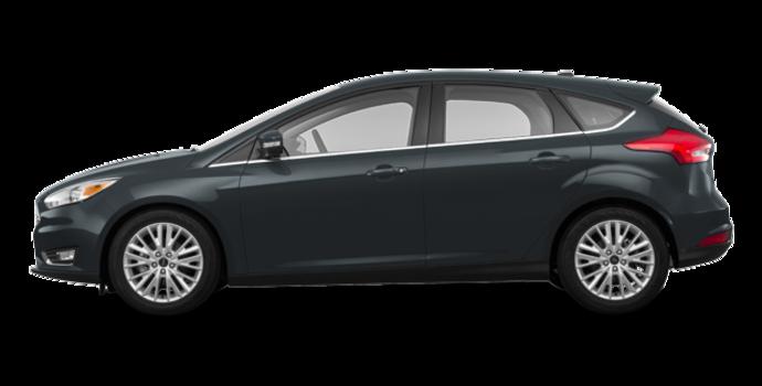 2018 Ford Focus Hatchback TITANIUM | Photo 4 | Blue Metallic