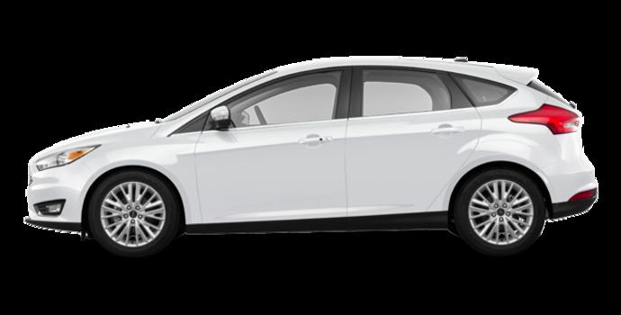 2018 Ford Focus Hatchback TITANIUM | Photo 4 | White Platinum Metallic