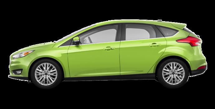 2018 Ford Focus Hatchback TITANIUM | Photo 4 | Outrageous Green Metallic
