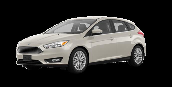 2018 Ford Focus Hatchback TITANIUM | Photo 6 | White Gold