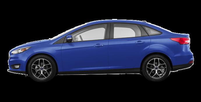 2018 Ford Focus Sedan SEL   Photo 4   Lightning Blue