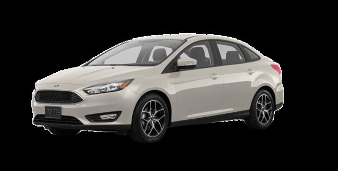 2018 Ford Focus Sedan SEL   Photo 6   White Gold