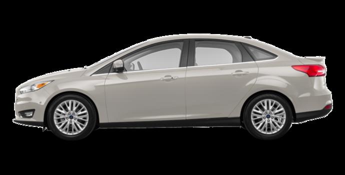 2018 Ford Focus Sedan TITANIUM | Photo 4 | White Gold
