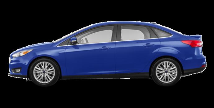 2018 Ford Focus Sedan TITANIUM | Photo 4 | Lightning Blue