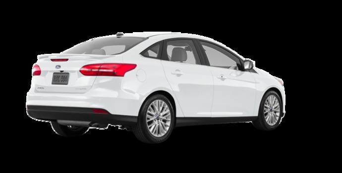 2018 Ford Focus Sedan TITANIUM | Photo 5 | White Platinum Metallic