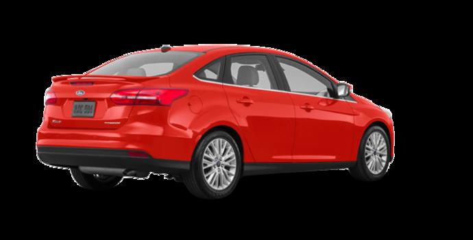 2018 Ford Focus Sedan TITANIUM | Photo 5 | Hot Pepper Red Metallic