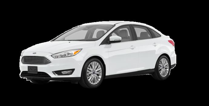 2018 Ford Focus Sedan TITANIUM | Photo 6 | White Platinum Metallic