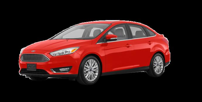 2018 Ford Focus Sedan TITANIUM | Photo 6 | Hot Pepper Red Metallic