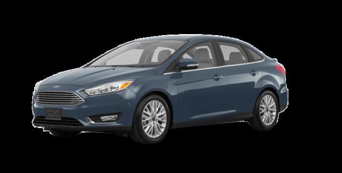 2018 Ford Focus Sedan TITANIUM | Photo 6 | Blue Metallic