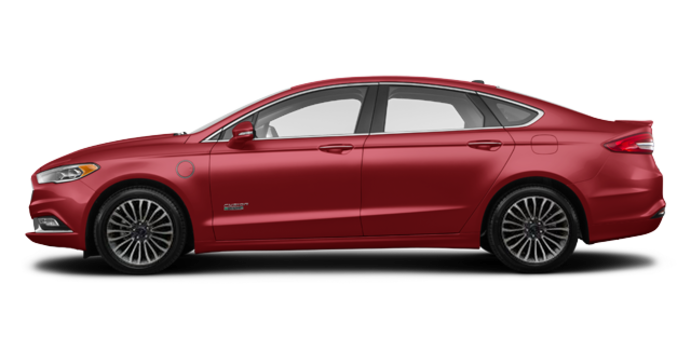 2018 Ford Fusion Energi PLATINUM | Photo 4 | Ruby Red