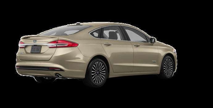 2018 Ford Fusion Energi PLATINUM | Photo 5 | White Gold