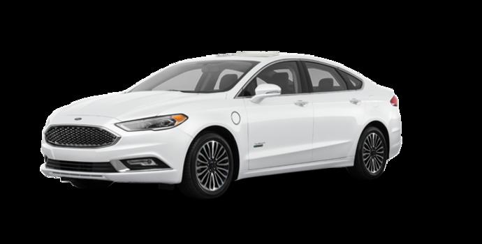 2018 Ford Fusion Energi PLATINUM | Photo 6 | White Platinum