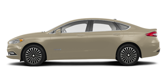 2018 Ford Fusion Hybrid PLATINUM | Photo 4 | White Gold