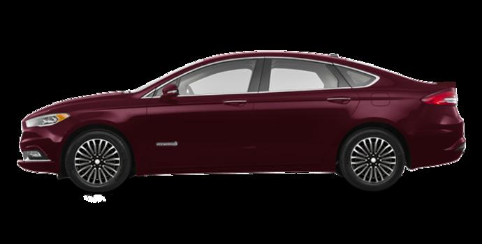 2018 Ford Fusion Hybrid PLATINUM | Photo 4 | Burgundy Velvet