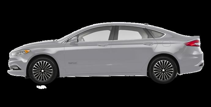 2018 Ford Fusion Hybrid PLATINUM | Photo 4 | Ingot Silver