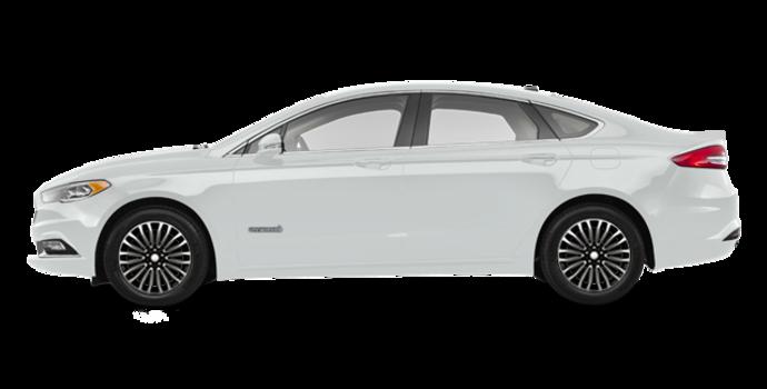 2018 Ford Fusion Hybrid PLATINUM | Photo 4 | White Platinum