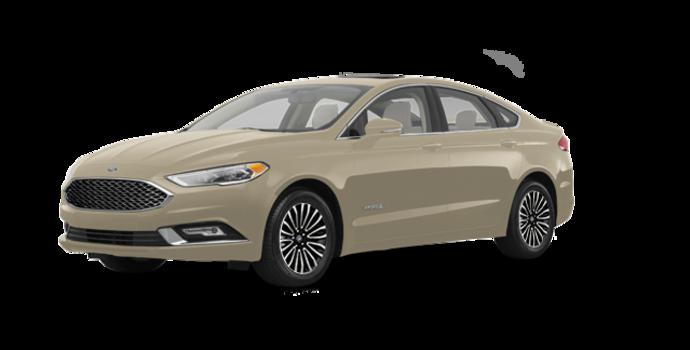 2018 Ford Fusion Hybrid PLATINUM | Photo 6 | White Gold