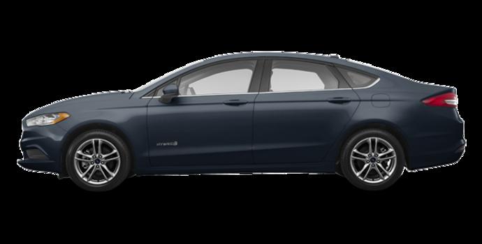 2018 Ford Fusion Hybrid SE   Photo 4   Blue Metallic